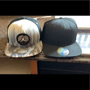 2 Jordan hats